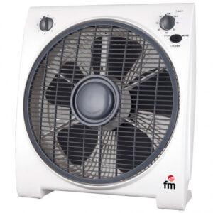 Ventilador Box FM BF4 30CM 5A 45W Blanco