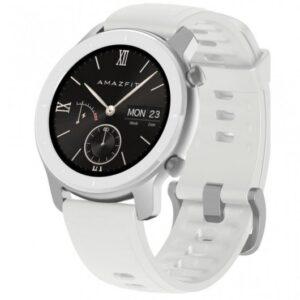 amazfit gtr smartwatch mm moonlight white especificaciones