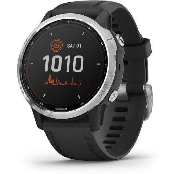 garmin fenix s solar smartwatch plata negro