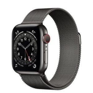 apple watch series  gps cellular mm acero inoxidable grafito con pulsera milanese loop grafito especificaciones