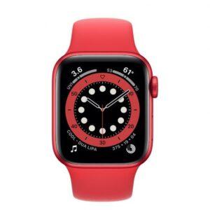 apple watch series  gps cellular mm aluminio product red con correa deportiva roja comprar