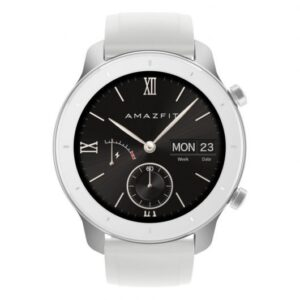 amazfit gtr smartwatch mm moonlight white caracteristicas