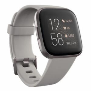 Fitbit Versa 2 Piedra/Gris Aluminio
