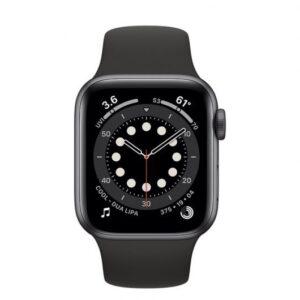 apple watch series  gps cellular mm aluminio en gris espacial con correa deportiva negra comprar