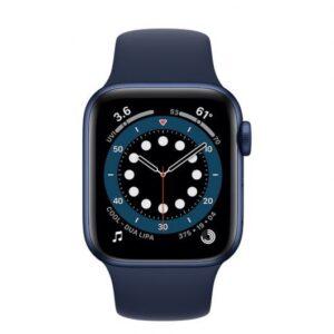 apple watch series  gps cellular mm aluminio en azul con correa deportiva azul marino intenso comprar