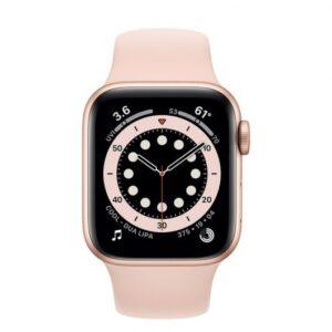 apple watch series  gps cellular mm aluminio en oro con correa deportiva rosa arena caracteristicas