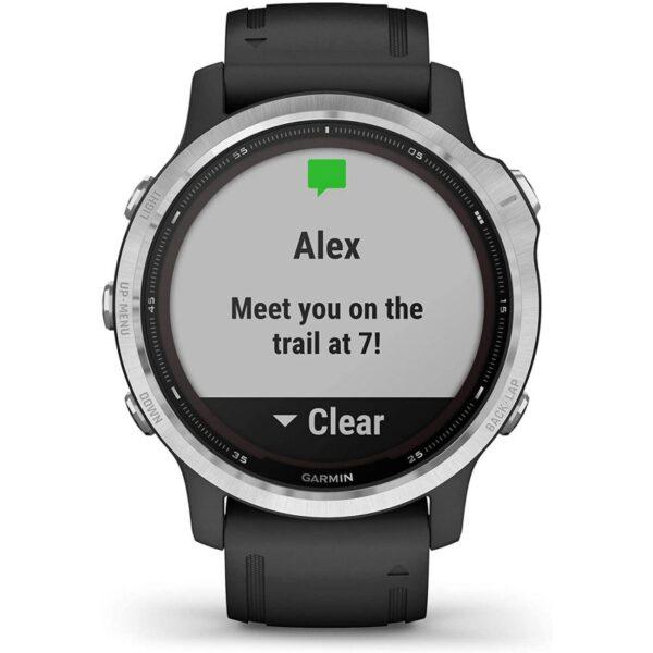 garmin fenix s solar smartwatch plata negro mejor precio