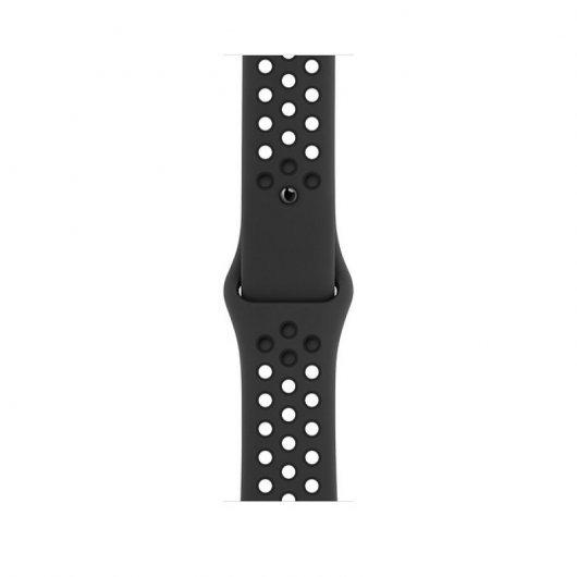 apple watch nike series  gps cellular mm aluminio gris espacial con correa nike sport antracita negro mejor precio