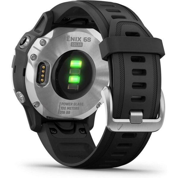 garmin fenix s solar smartwatch plata negro especificaciones