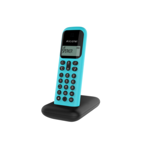 alcatel telefono dec d negro turquesa