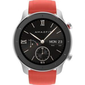 amazfit gtr reloj smartwatch mm coral red comprar