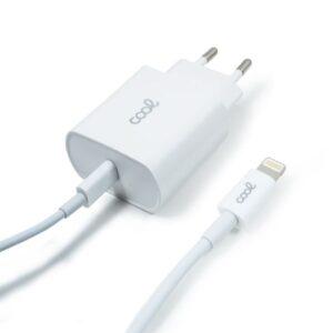cargador red para iphone cool entrada tipo c pd cable tipo c lightning  metros w  min