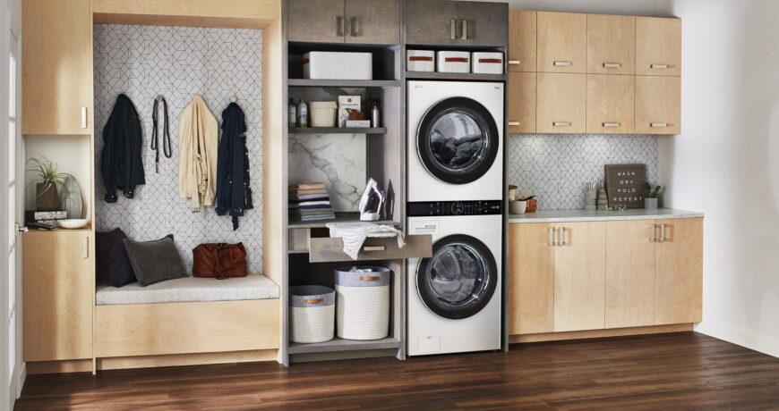 cuanto consume una lavadora secadora