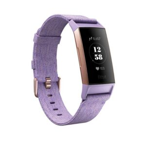 pulsera fitbit charge  se lavender woven