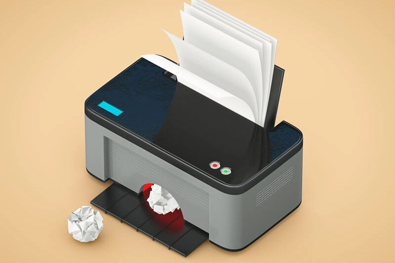 una impresora multifunción