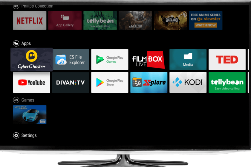 como actualizar el software de la tv