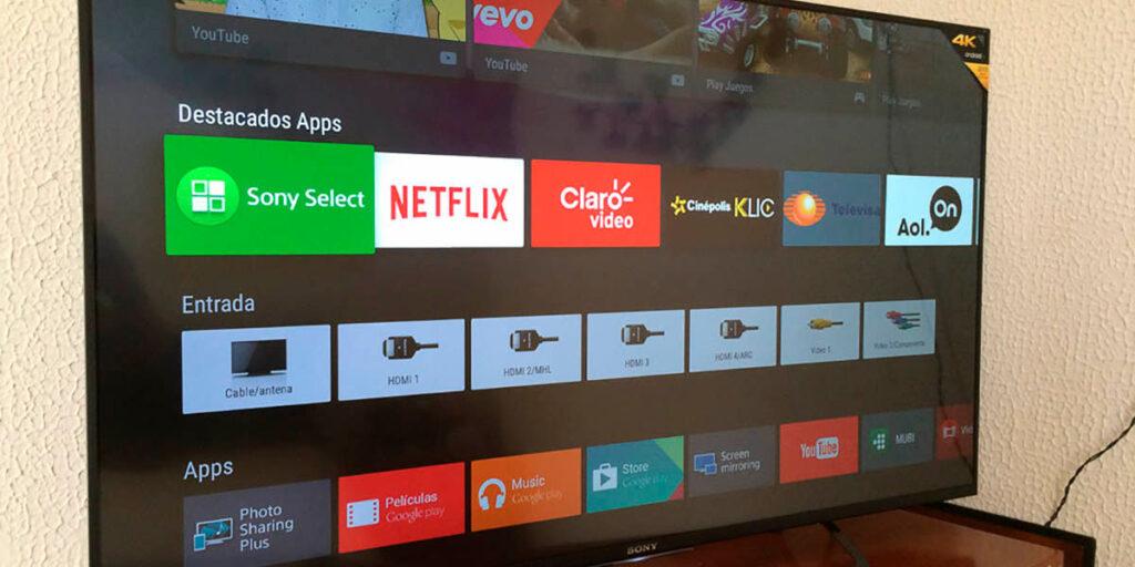 actualizar el software de tv