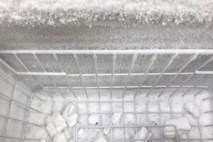 Formas de descongelar un congelador